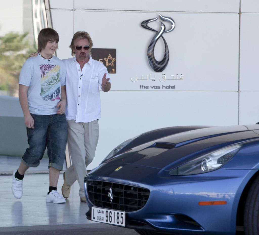 Ferrari Supports Noels Christmas Presents With A Visit To
