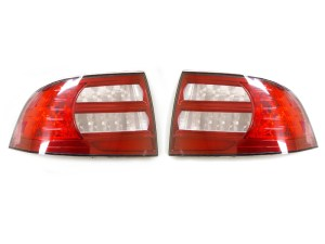 DEPO Combo LED Clear Side Marker  RedClear Tail Lights For 20042008 Acura TL   eBay