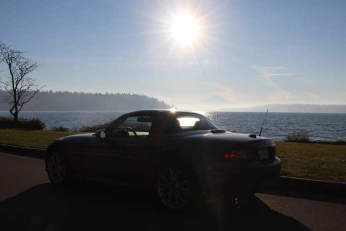 The Mazda Miata beacons to the roads that lead us to the far off places.