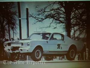 GT350 Racing at Grass Valley Texas 1965