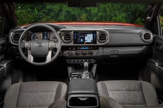 2016 Toyota Tacoma TRD - Press