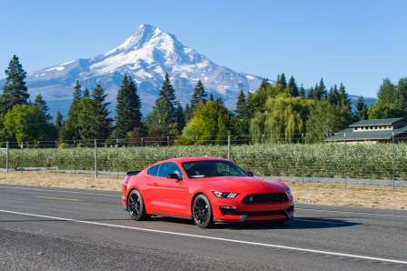 This is a Ford Mustang.