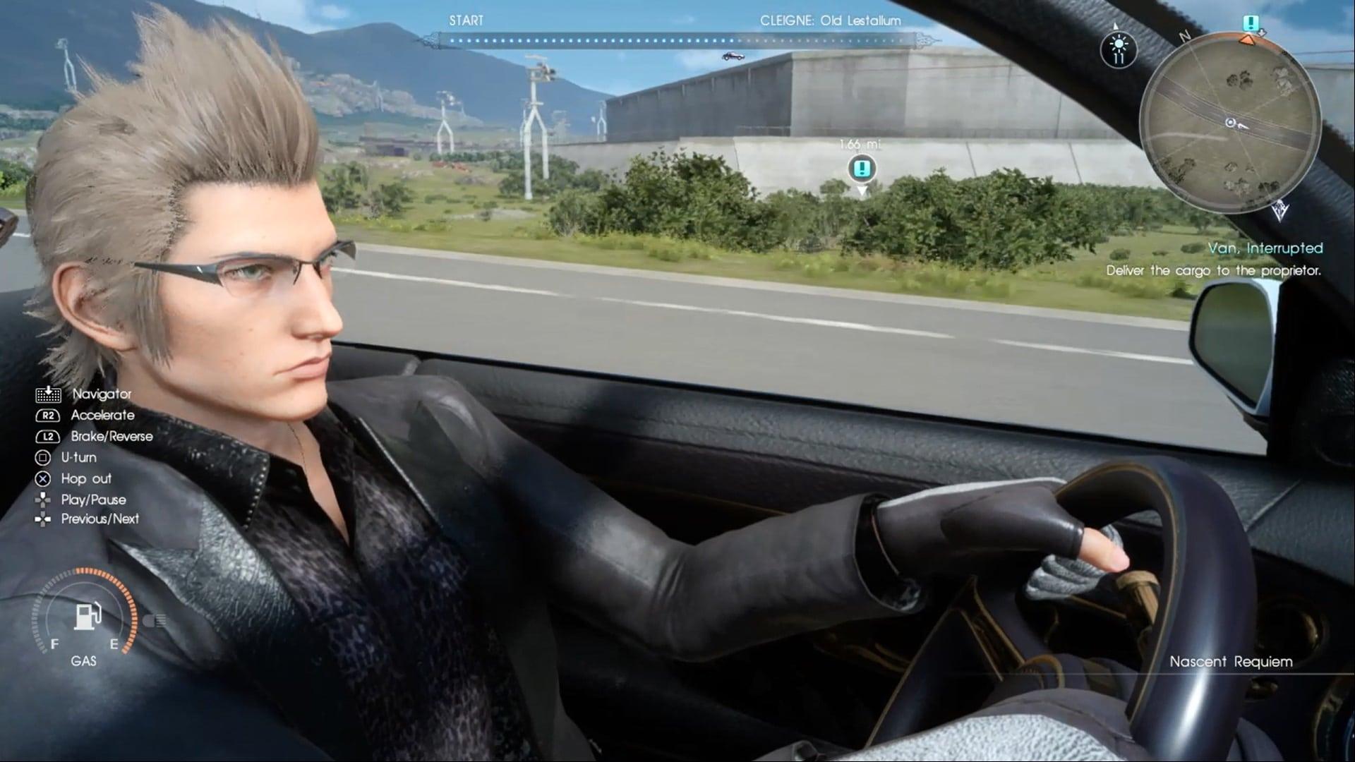 Final Fantasy XV Finally A Final Fantasy For Car Fiends