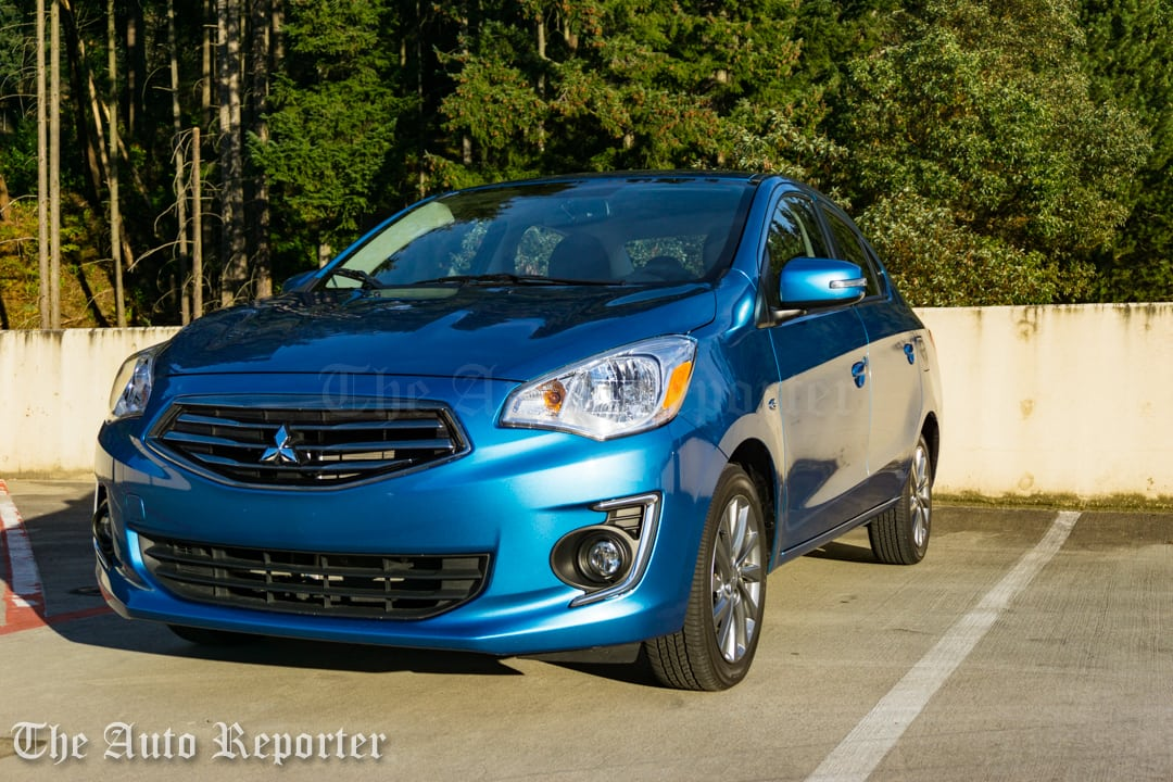 2017 Mitsubishi Mirage G4 SE sedan _ 08