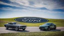 50 years of history -- Original 1968 Bullitt Mustang and 2019 Mustang Bullitt