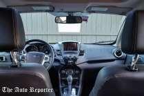 Ford Fiesta review car interior.