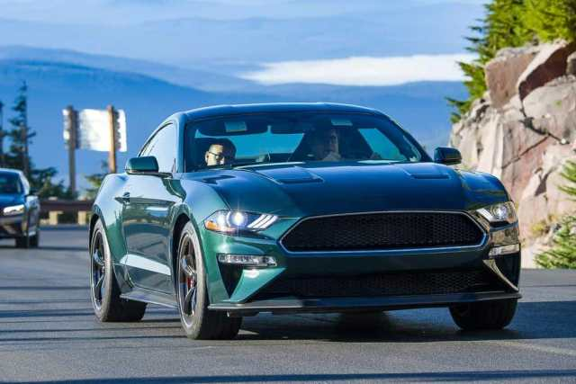 The 2019 Ford Mustang Bullitt eagerly ascends mountain passes at Run to the Sun.