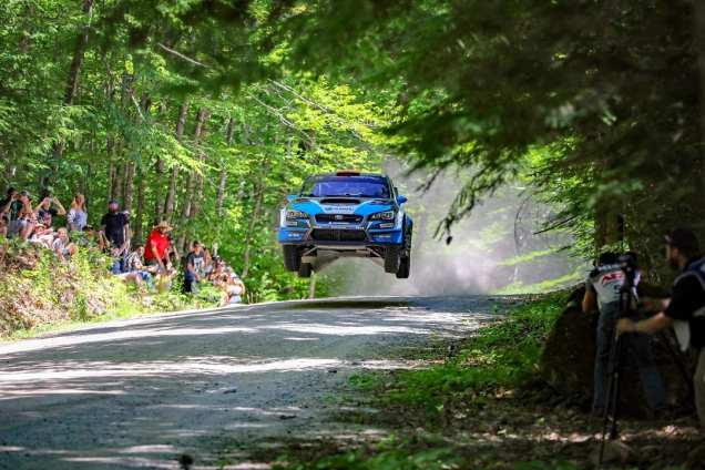 David Higgins and Craig Drew Capture 2018 American Rally Association Championship
