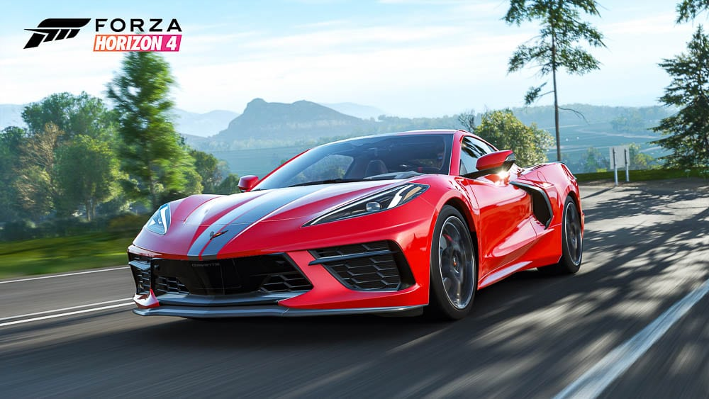 C8 Corvette featured in Forza Horizon 4