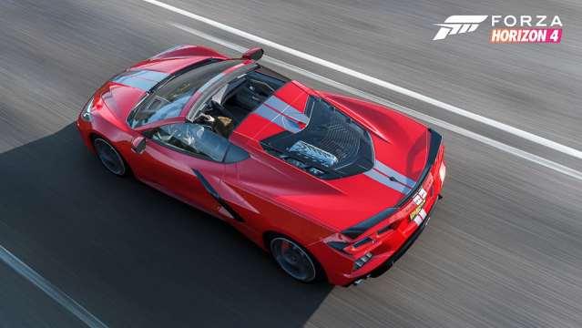 Forza Corvette C8 top