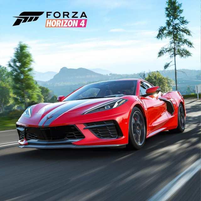 Forza Corvette C8 front 2