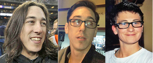 Tim Lincecum, before & after haircut... K.D. Lang