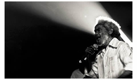 Max Romeo, who will appear at the Sierra Nevada Music Festival, live in Brazil in 2012. Courtesy Thiago Nascimento