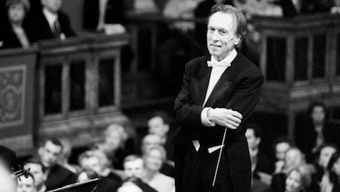 Claudio Abbado with the Berlin Philharmonic, 2012.