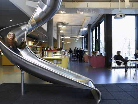 Google Office Slide, New York