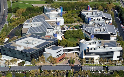 Google Headquarters, Mountain View, California