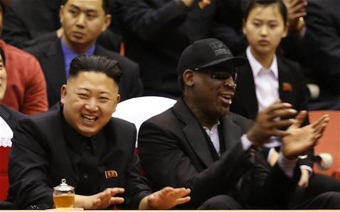 Kim Jong Un & Dennis Rodman