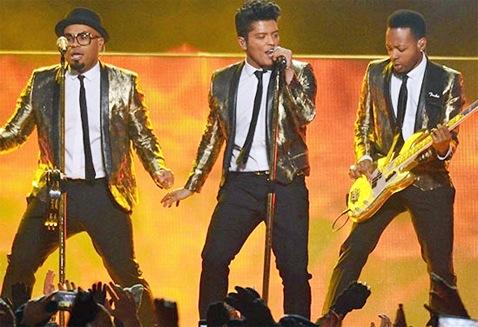 Bruno Mars at the Superbowl.