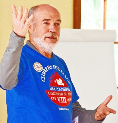 Fred Ptucha, Vietnam War veteran and member of Sonoma County Veterans For Peace Chapter 71