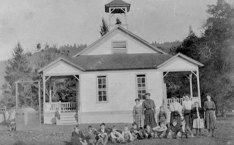Indian Creek School, circa 1900