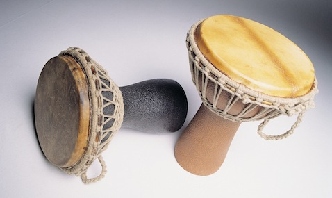 Djembes made from Zeoform