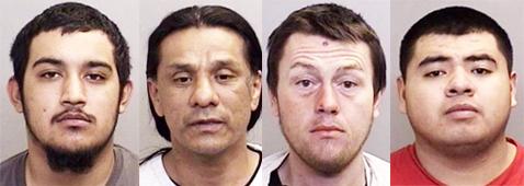 R.Elliott, T.Elliott, Gardiner, Guevara