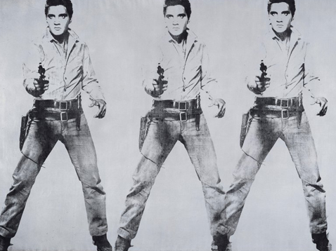 """Triple Elvis,"" Andy Warhol, Courtesy, SFMOMA"