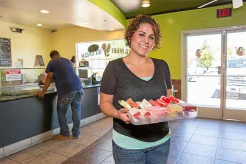 Liz Echeverria (Photo Courtesy Chris Pugh, the Ukiah Daily Journal)