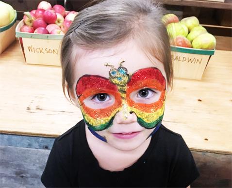 butterflymask