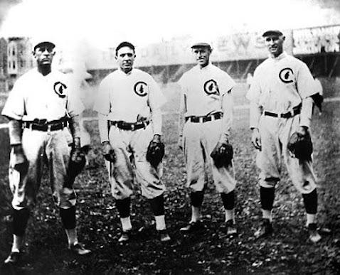 1908 Cubs Infield: Steinfeldt, Tinker, Evers, Chance
