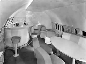 Raymond Loewys Boeing 307 Interior For Howard Hughes