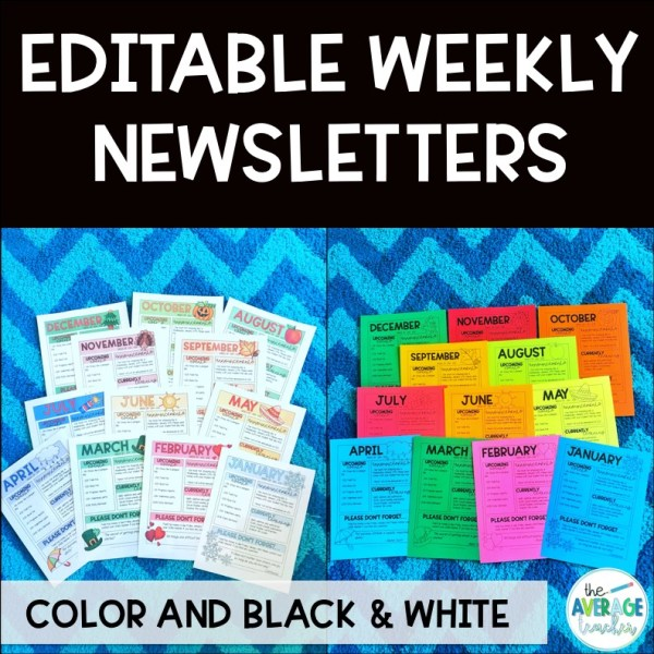 classroom-newsletter-templates