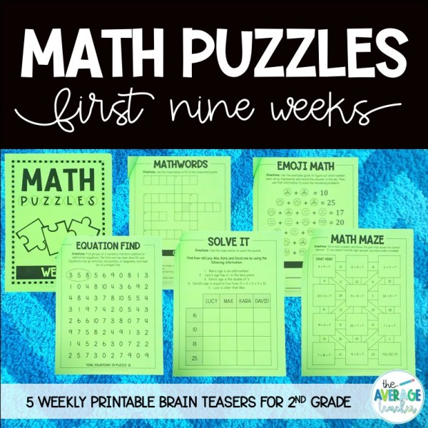 Math Puzzles and Brain Teasers