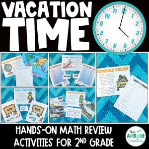 Telling Time Activities for 2nd Grade