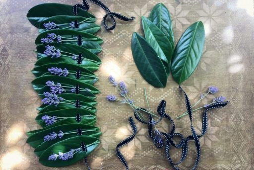 Pretty and so easy leaf crown ideal sustainable party accessory