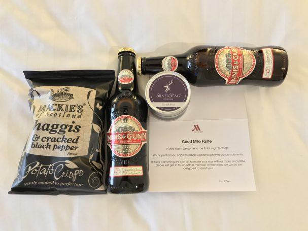 edinburgh marriott beer
