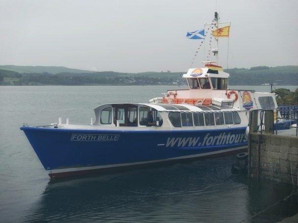 Forth Belle boat
