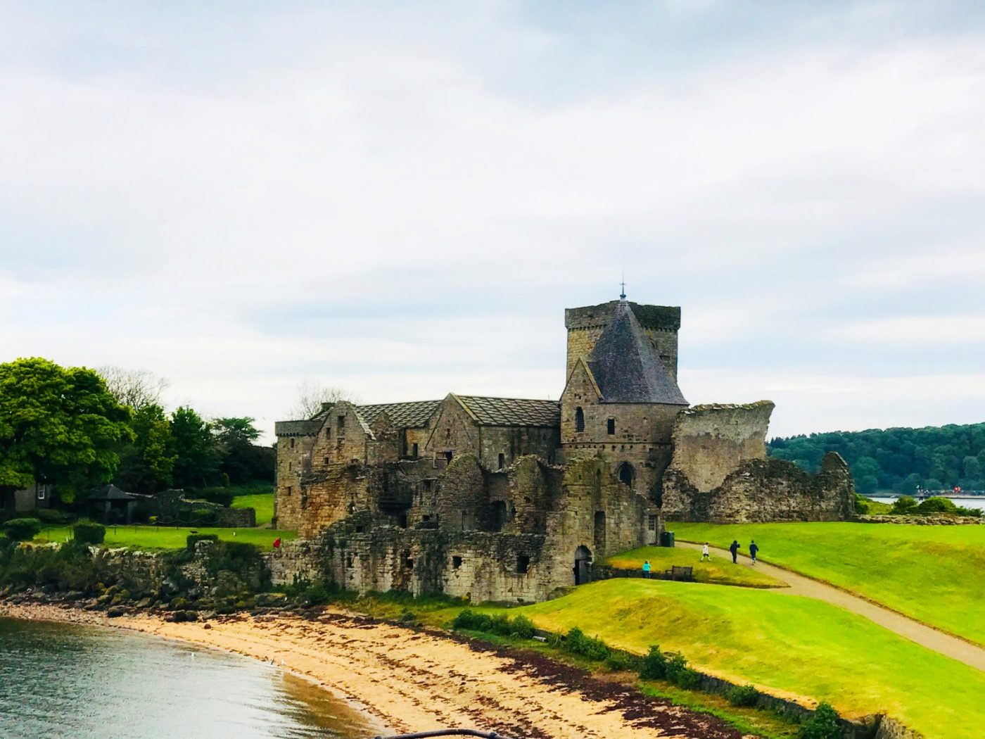 Inchcolm Island and Inchcolm Abbey
