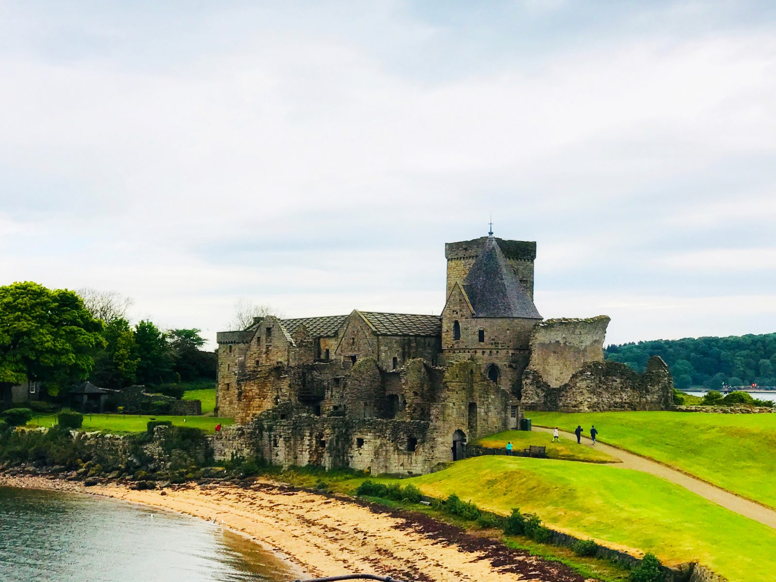Inchcolm Island and Inchcolm Abbey
