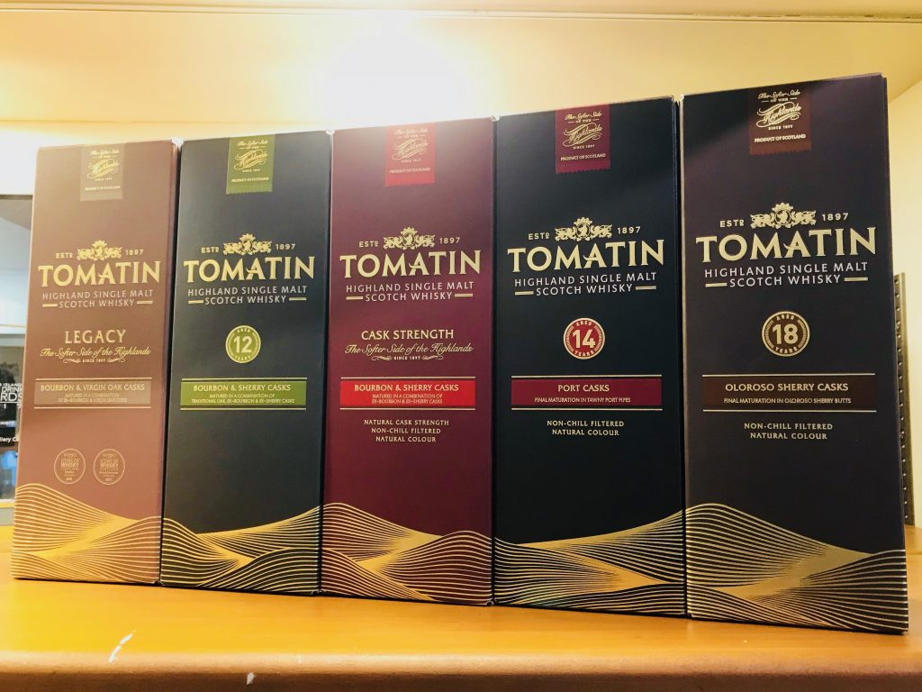 Tomatin Highland Single Malt Scotch Whisky