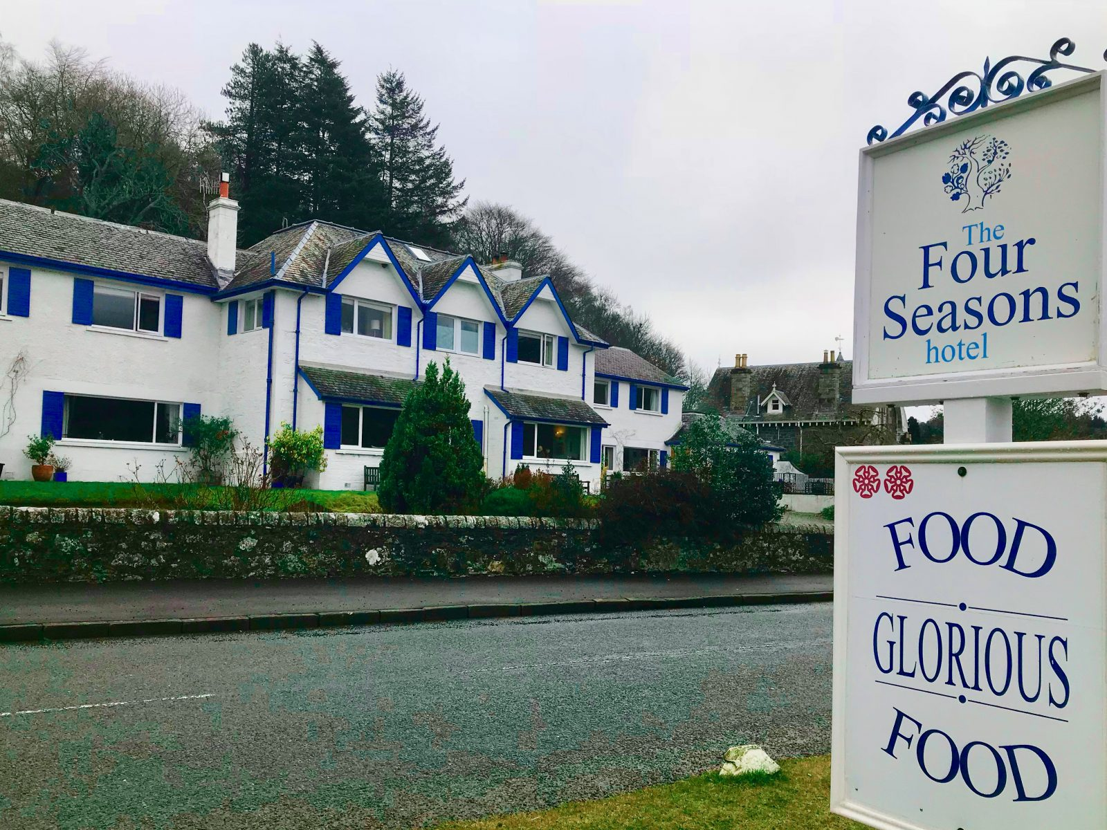 The Four Seasons Hotel St Fillans Review