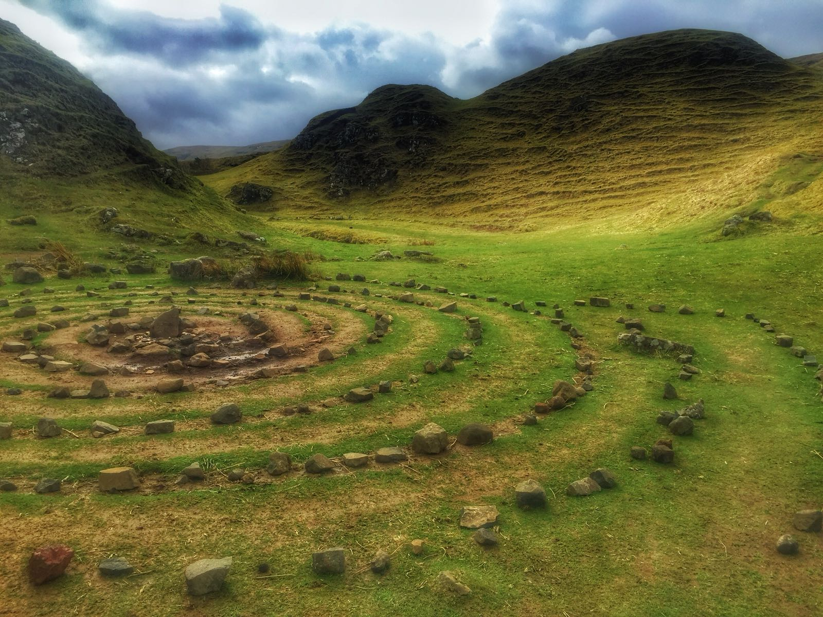 The Fairy Glen Skye