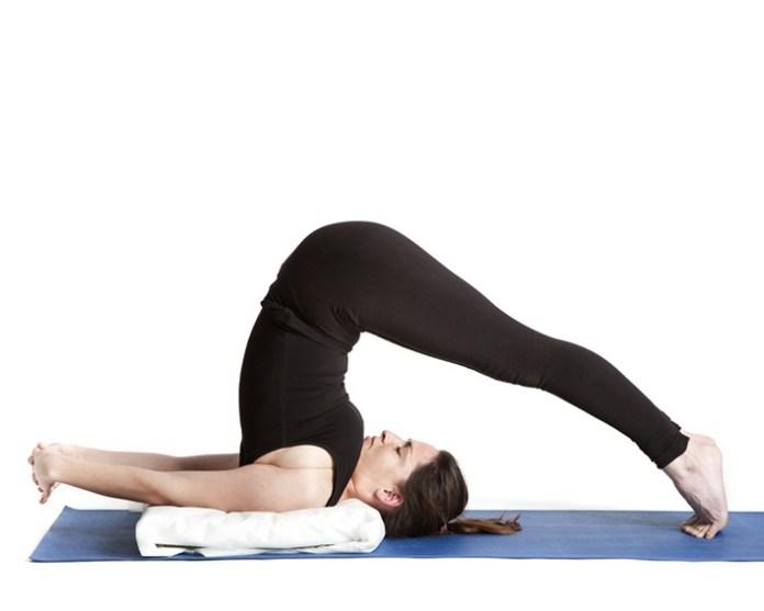 Halasana-yoga-pose