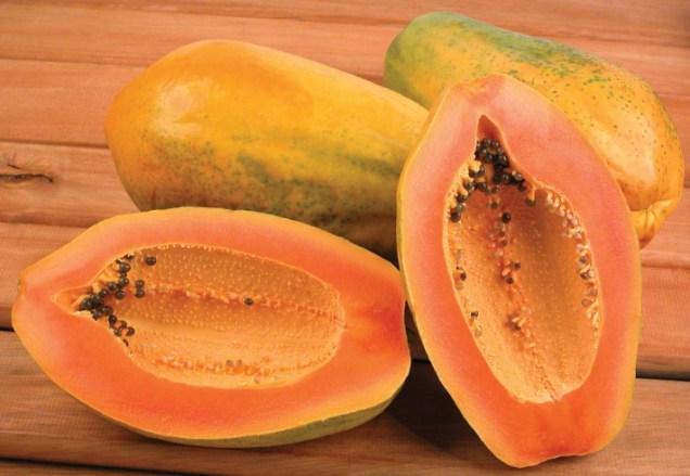 Papaya-fruit