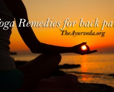 Yoga remedies for back pain