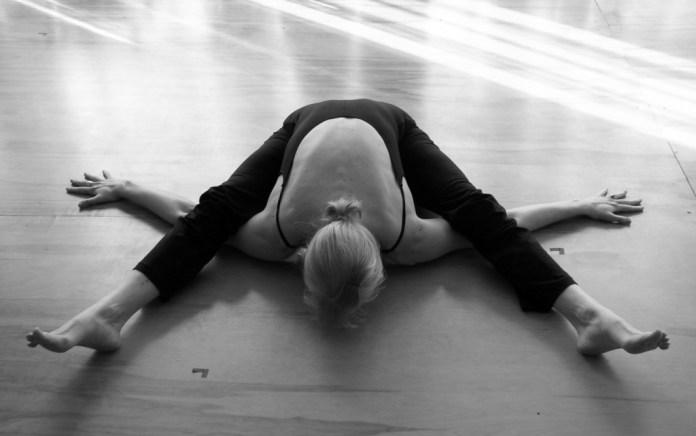 Kurmasana yoga pose