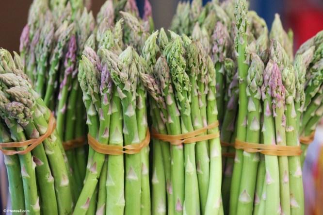 Asparagus as a vegetable