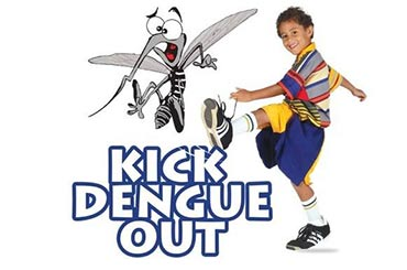 Kick Dengue out from our world