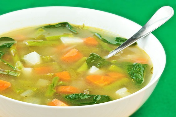 Vegetable soup for a good health