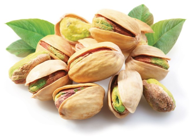 Green pistachio for health and respiration